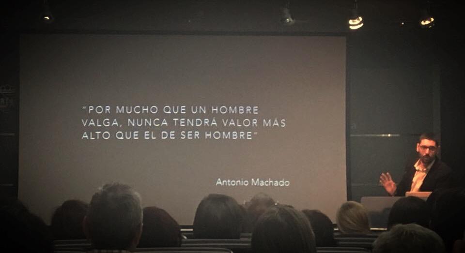 Ponencia de Ignacio Calderón en Vitoria Gasteiz (Octubre, 2016)