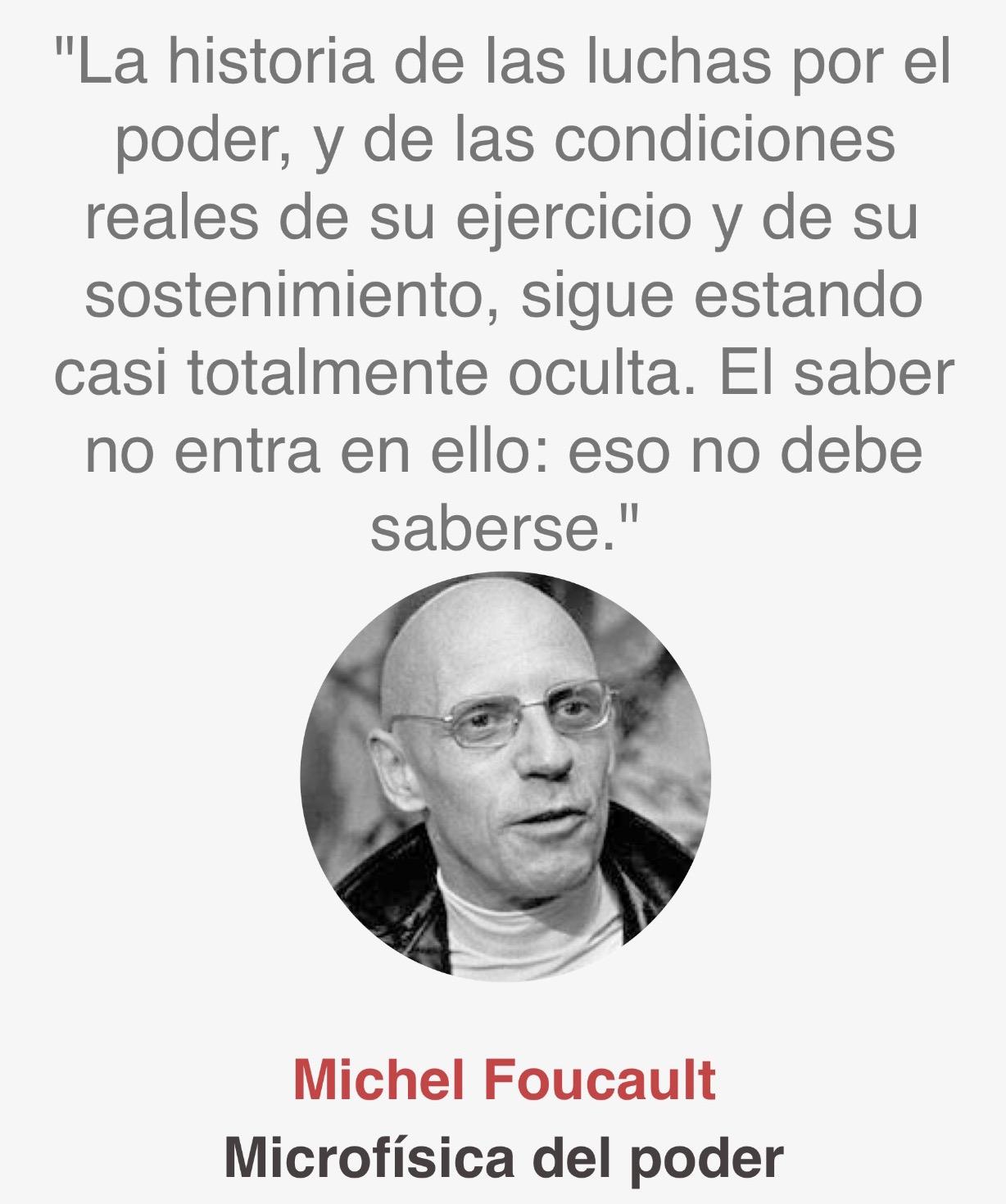 Cita Foucault
