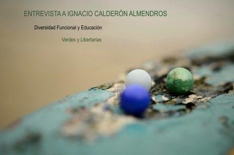 Entrevista a Ignacio Calderón: Diversidad Funcional y Educación